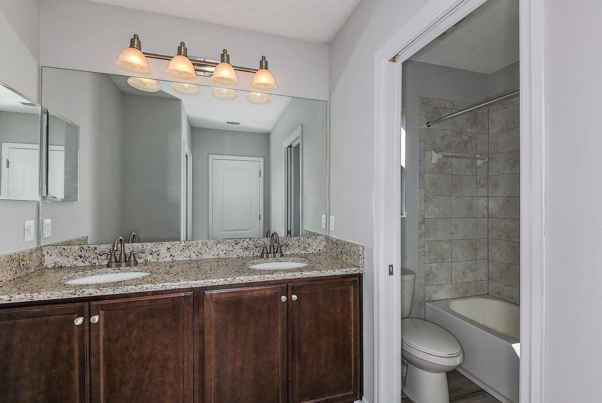 Bathroom featured in the Briarwood By Mobley Homes in Tampa-St. Petersburg, FL