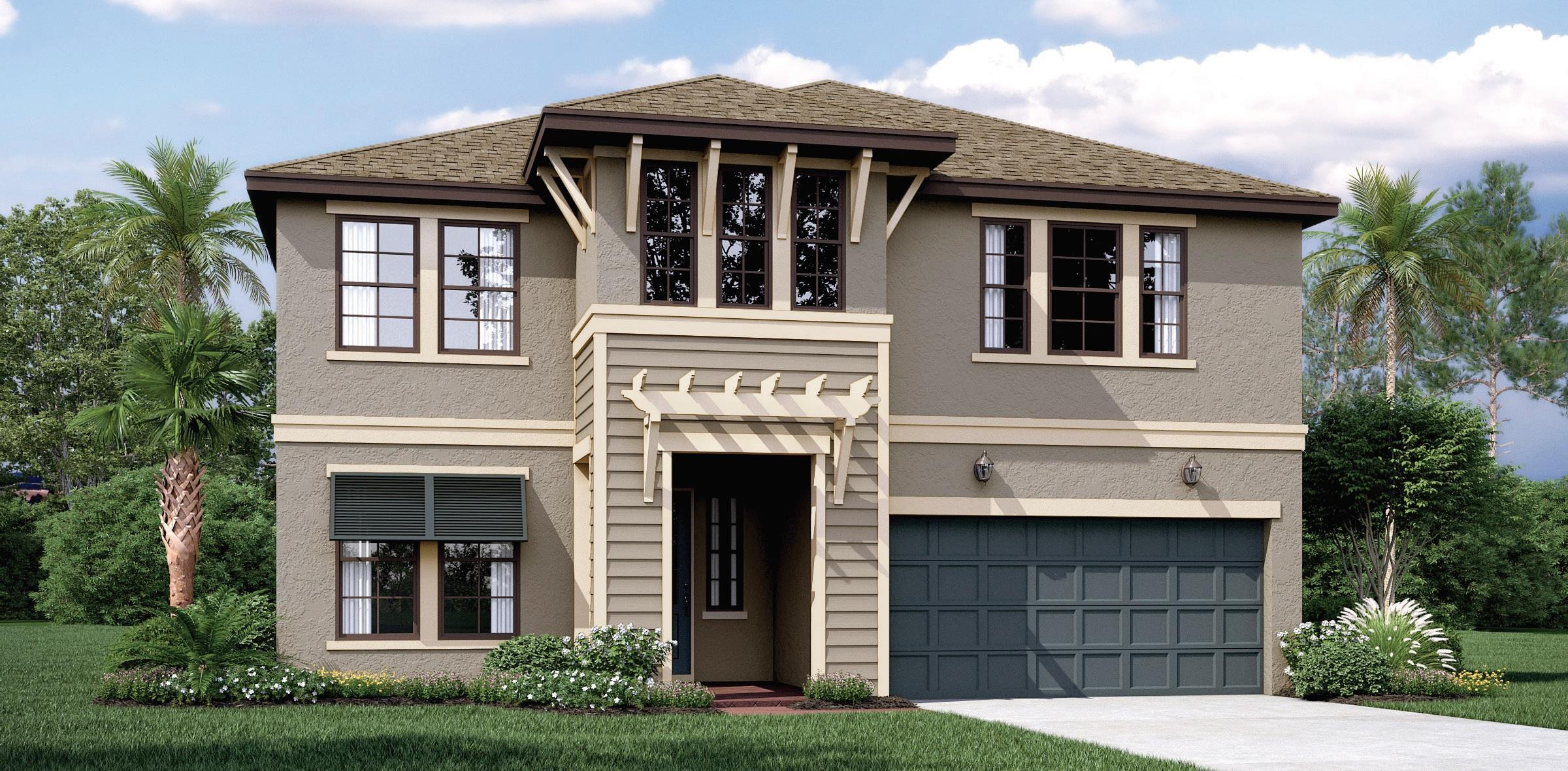 Exterior featured in the Briarwood By Mobley Homes in Tampa-St. Petersburg, FL