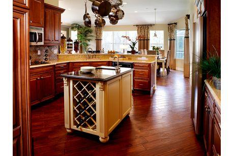 Kitchen-in-Nantucket V-at-The Manors at Lake Padgett-in-Land O' Lakes