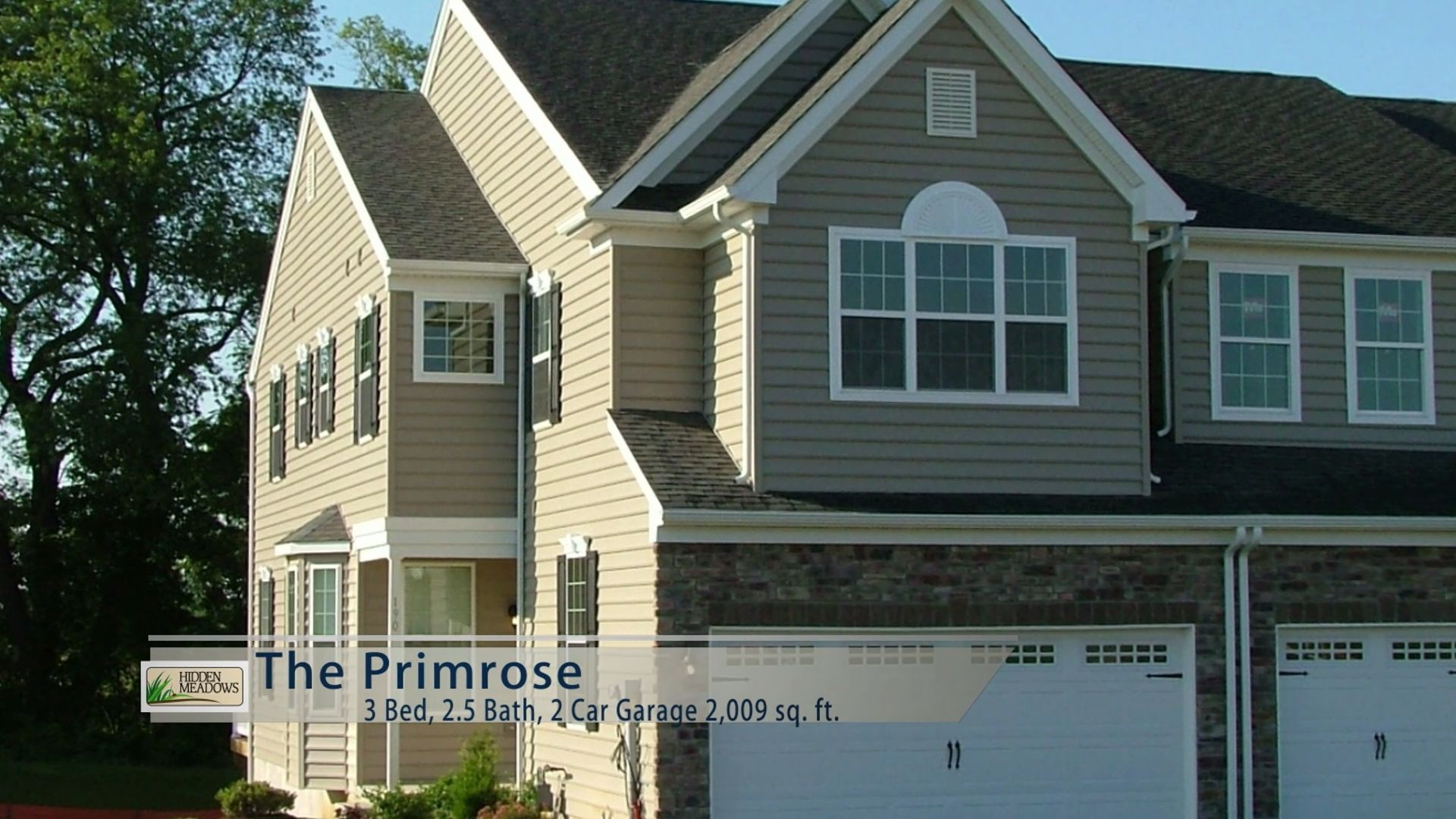 Exterior featured in the Primrose By Sal Lapio Homes in Allentown-Bethlehem, PA