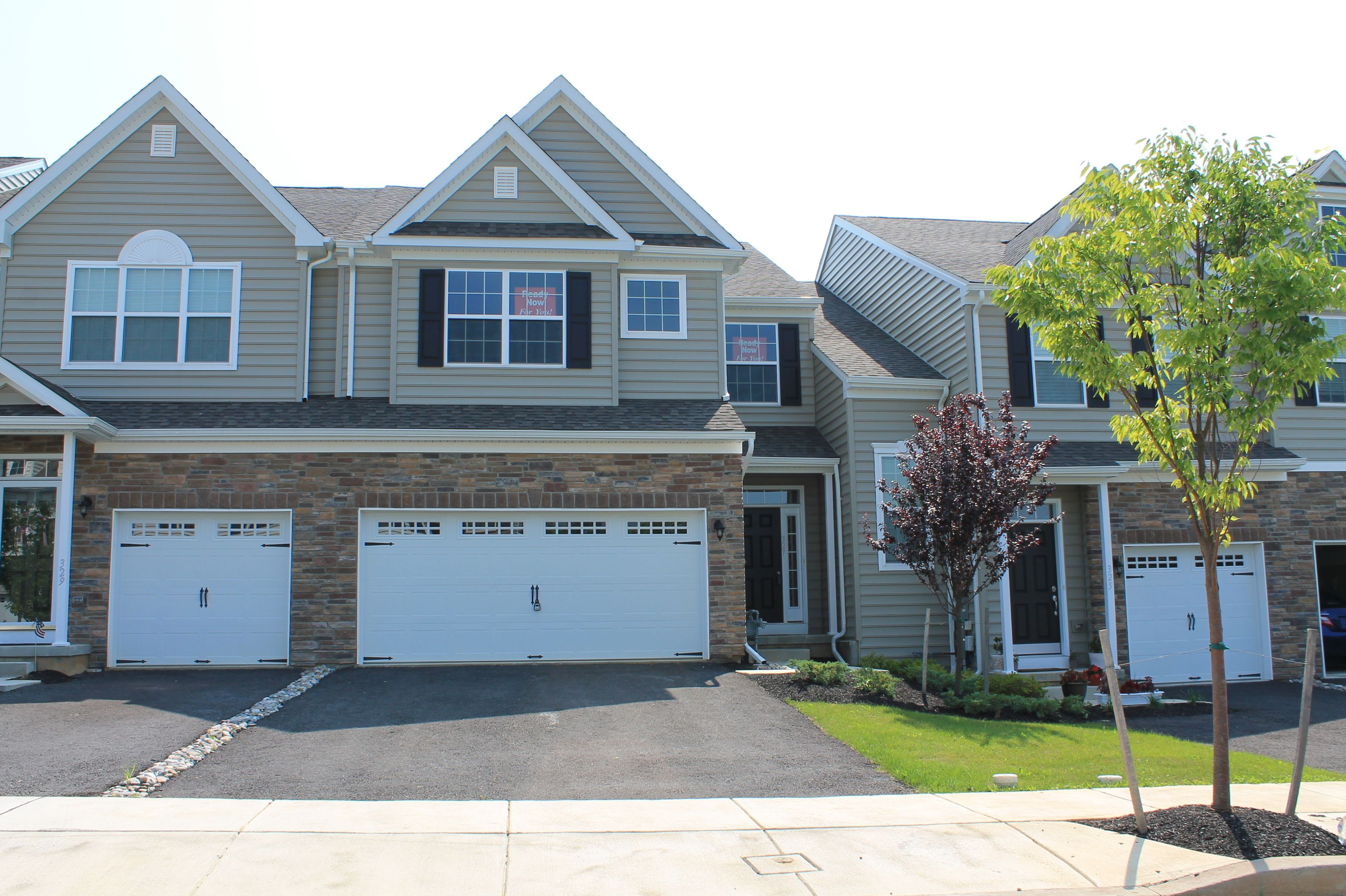 Exterior featured in the Monarch By Sal Lapio Homes in Allentown-Bethlehem, PA