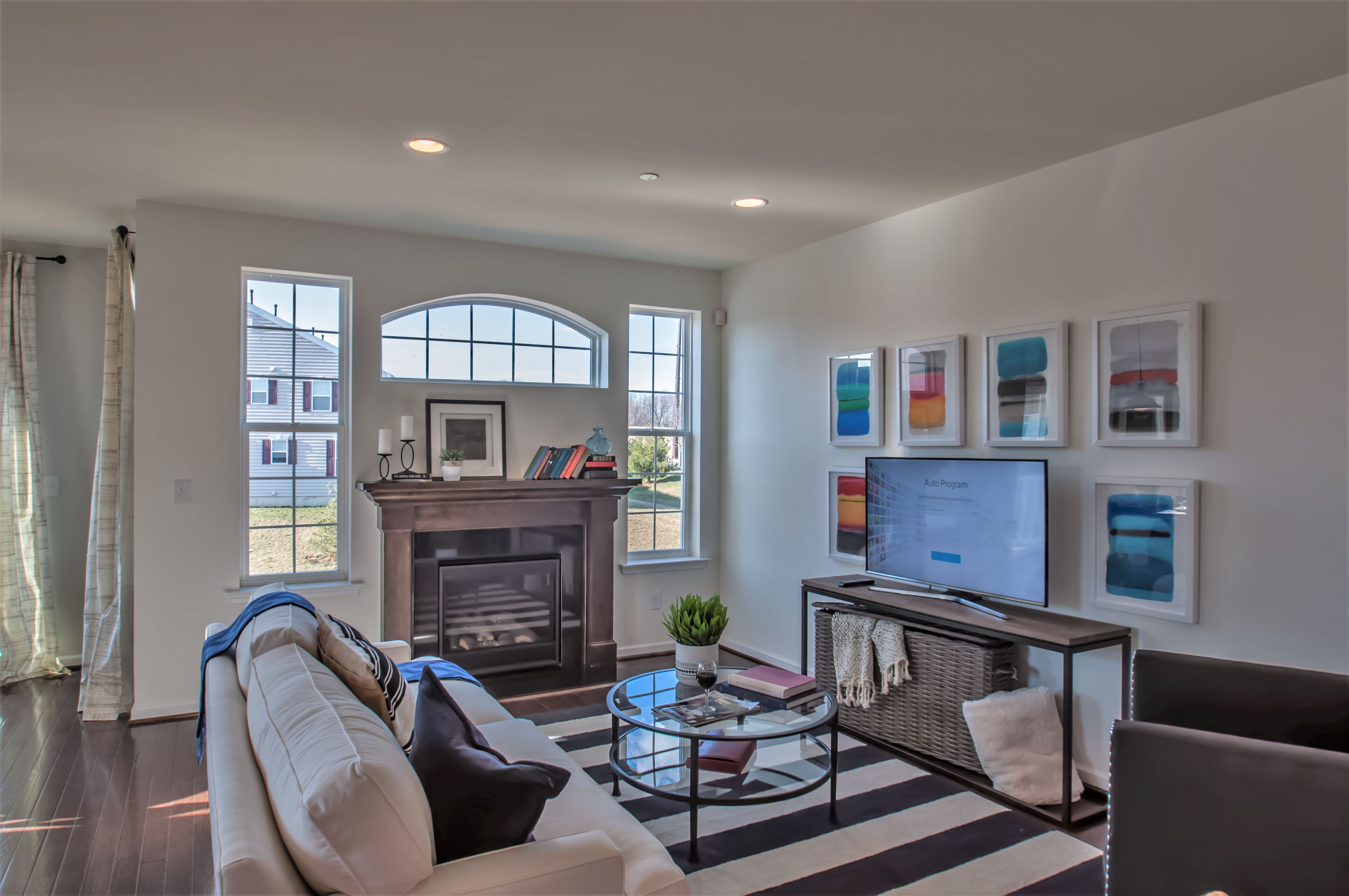 Living Area featured in the Primrose By Sal Lapio Homes in Allentown-Bethlehem, PA