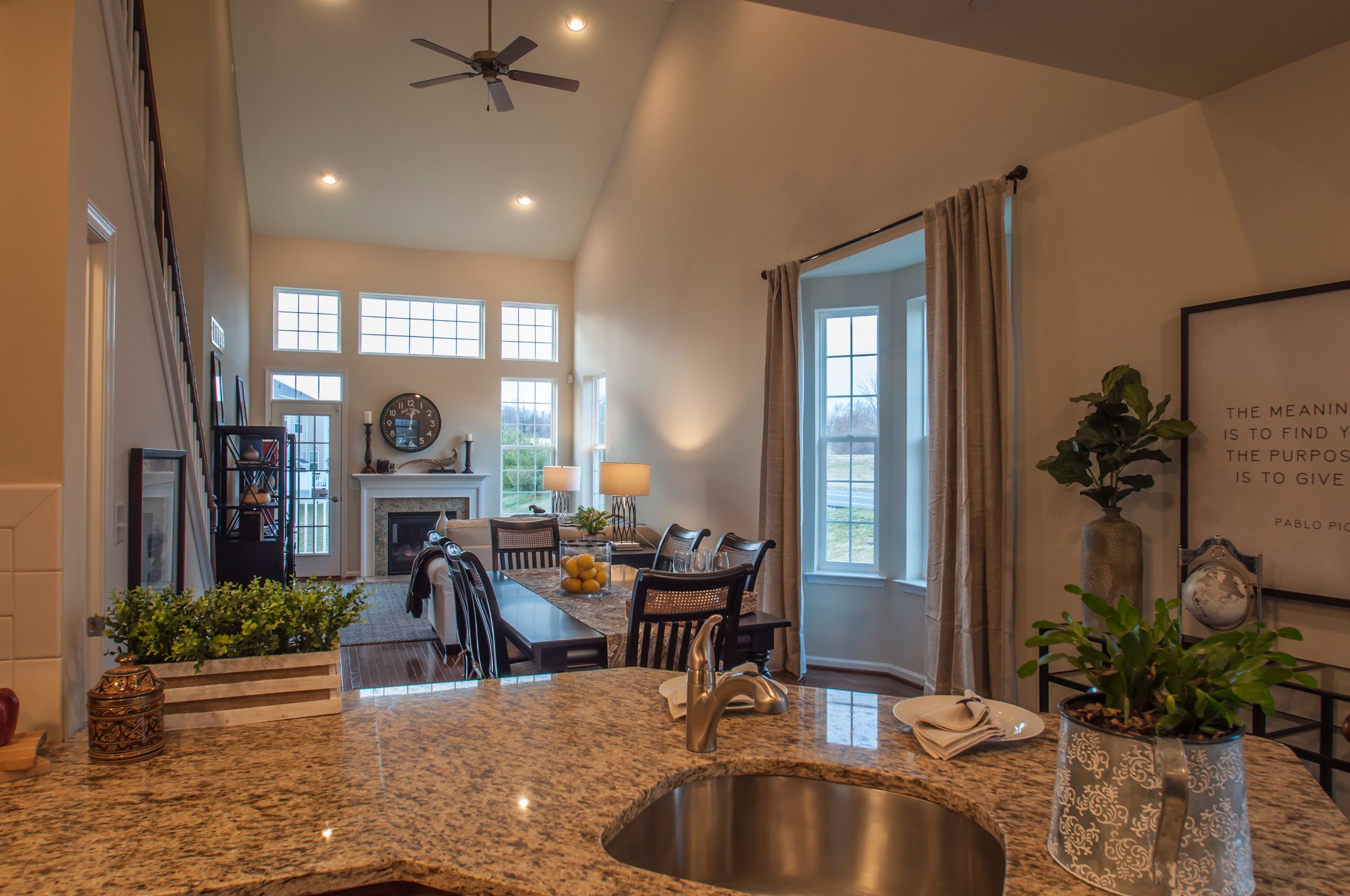 Living Area featured in the Monarch By Sal Lapio Homes in Allentown-Bethlehem, PA