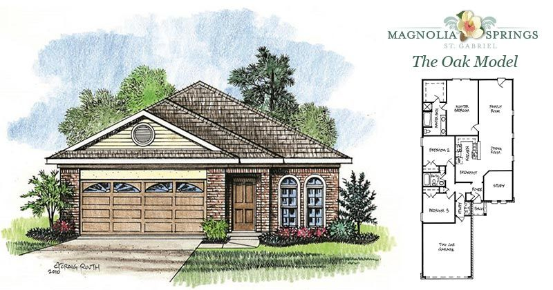 Magnolia Springs House Plan House Plans
