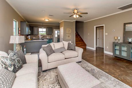 Greatroom-and-Dining-in-The Magnolia-at-Magnolia Springs-in-Saint Gabriel