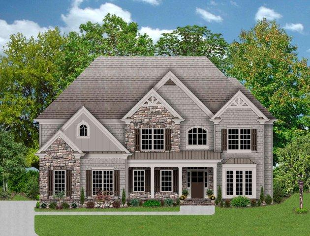 Exterior featured in The Telfair By Magnolia Homes in Atlanta, GA