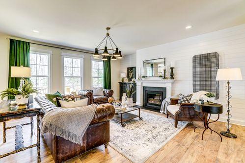 Glebe Point Estates by Main Street Homes in Richmond-Petersburg Virginia