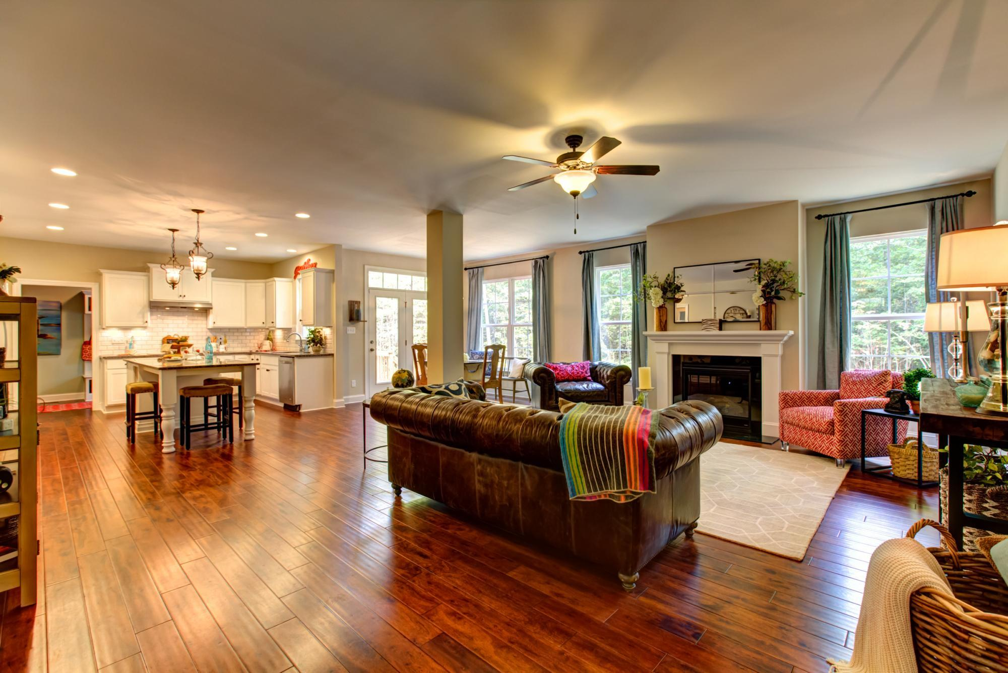 Living Area featured in the Brookshire By Main Street Homes in Richmond-Petersburg, VA