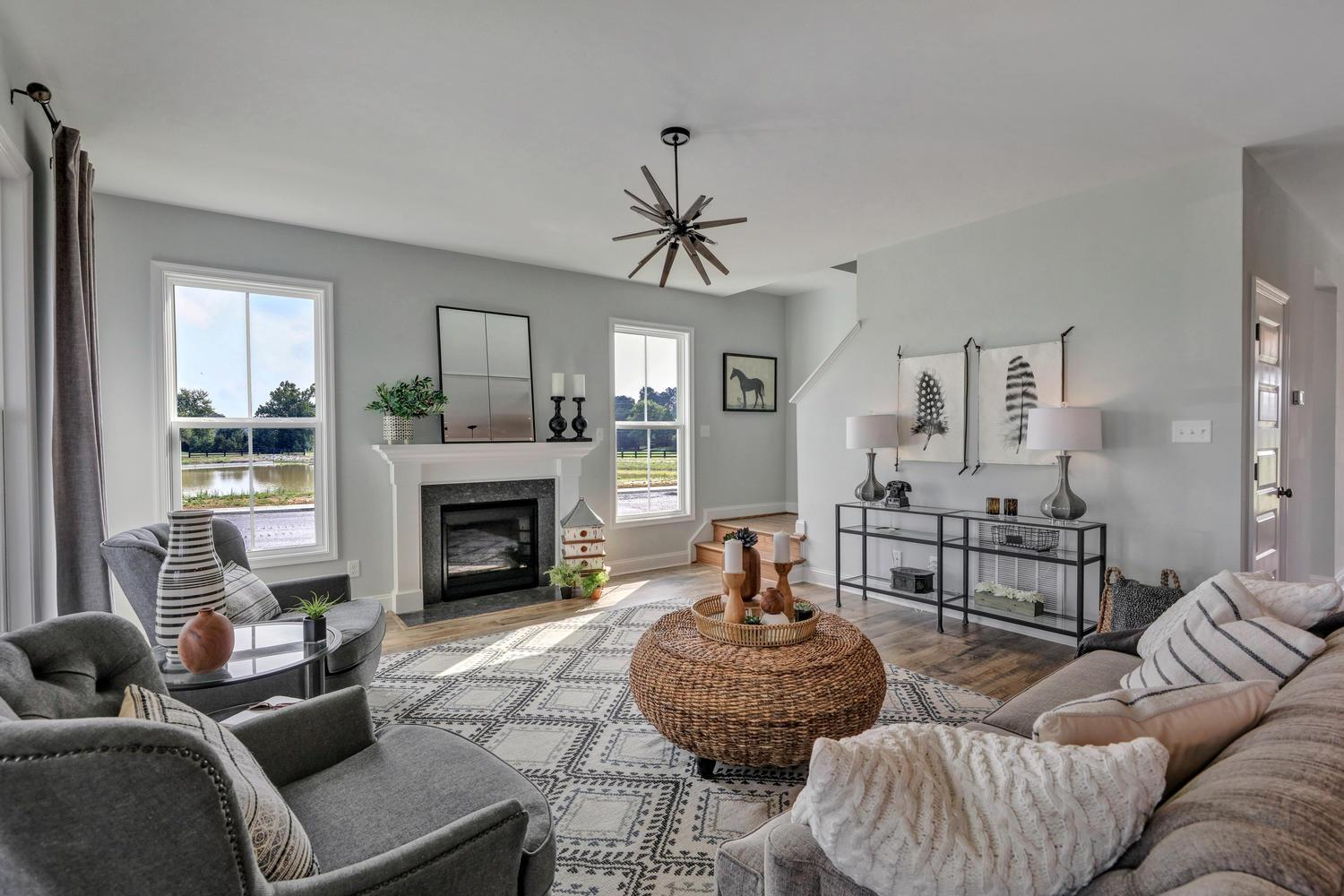 Living Area featured in the Jefferson By Main Street Homes in Richmond-Petersburg, VA