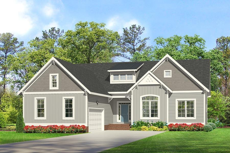 Exterior featured in the Treyburn III By Main Street Homes in Richmond-Petersburg, VA