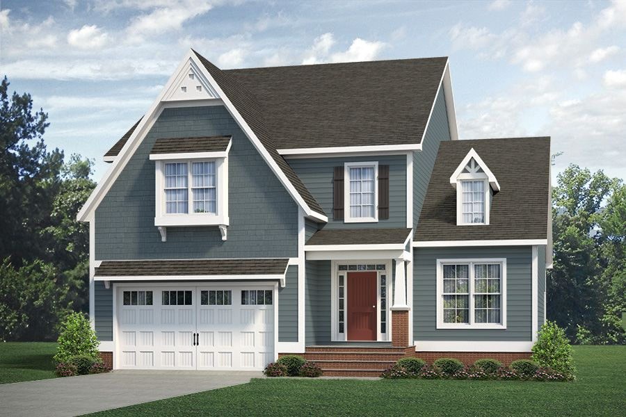 Exterior featured in the Monterey By Main Street Homes in Richmond-Petersburg, VA