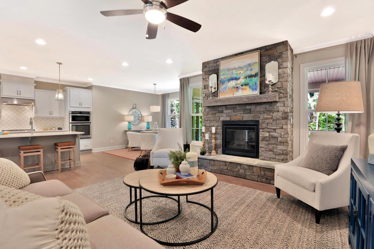 Living Area featured in the Amelia By Main Street Homes in Richmond-Petersburg, VA