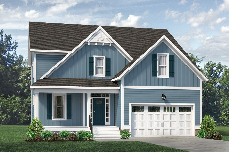 Exterior featured in the Corbin By Main Street Homes in Richmond-Petersburg, VA