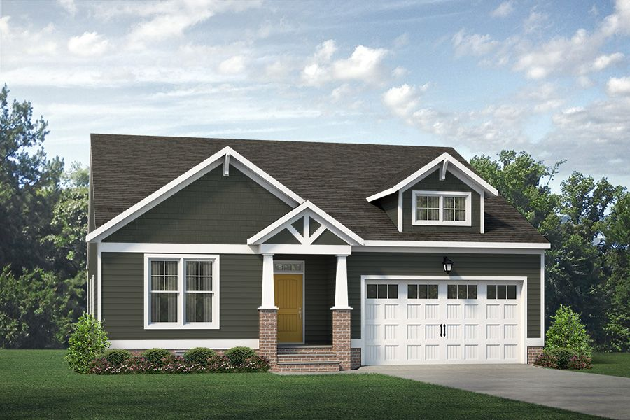 Exterior featured in the Caroline By Main Street Homes in Richmond-Petersburg, VA