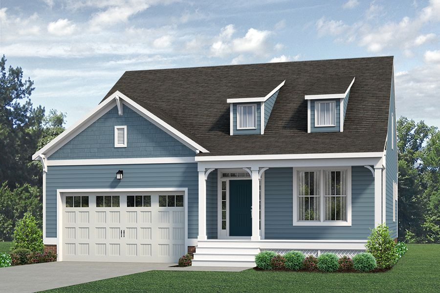 Exterior featured in the Kelsey By Main Street Homes in Richmond-Petersburg, VA