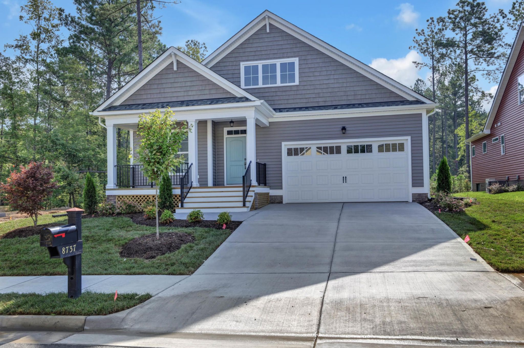 Exterior featured in the Ashley I By Main Street Homes in Richmond-Petersburg, VA