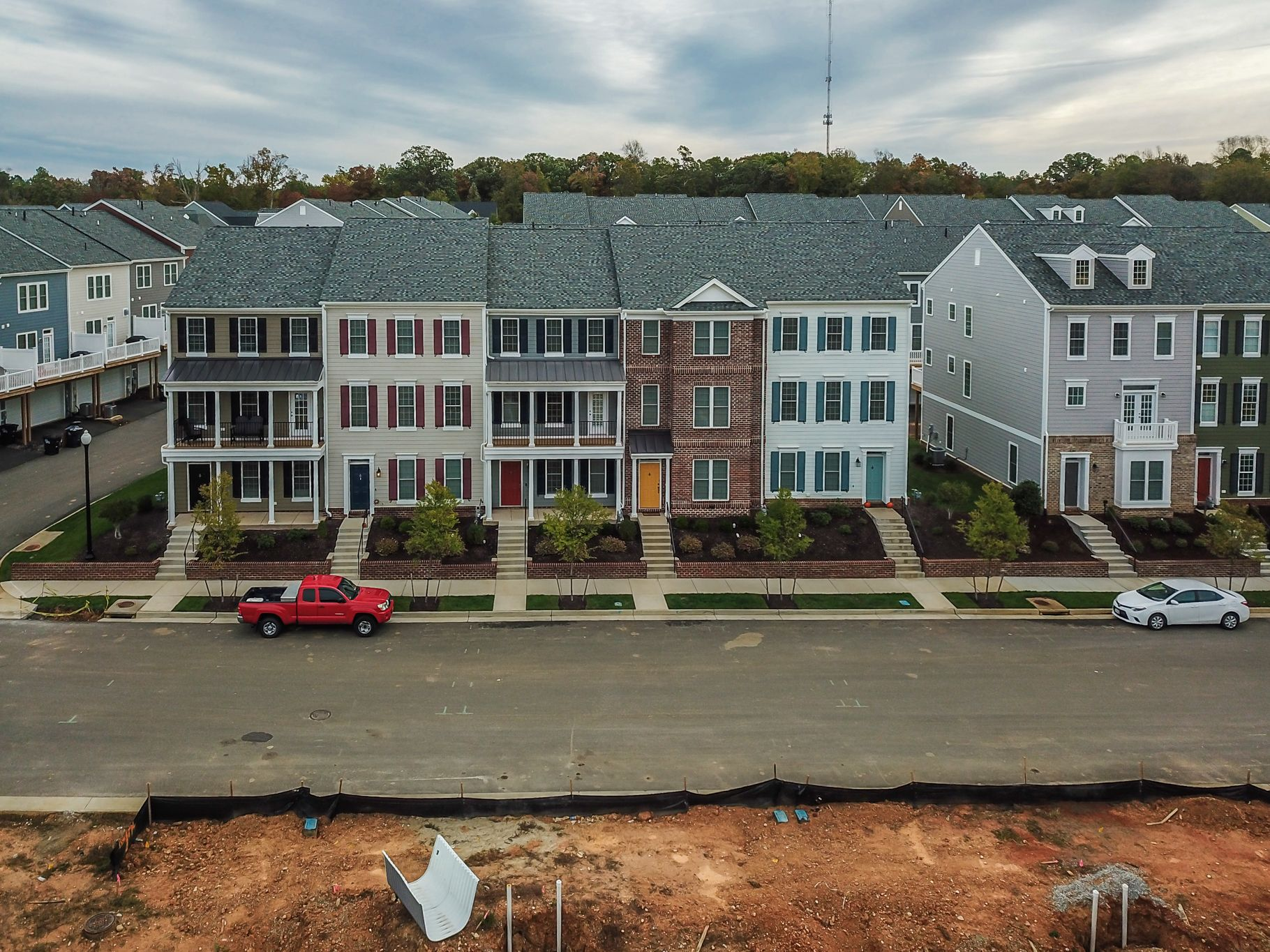 'Winterfield Park Townhomes' by Main Street Homes in Richmond-Petersburg