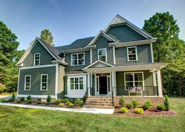 Exterior featured in the Brookshire By Main Street Homes in Richmond-Petersburg, VA