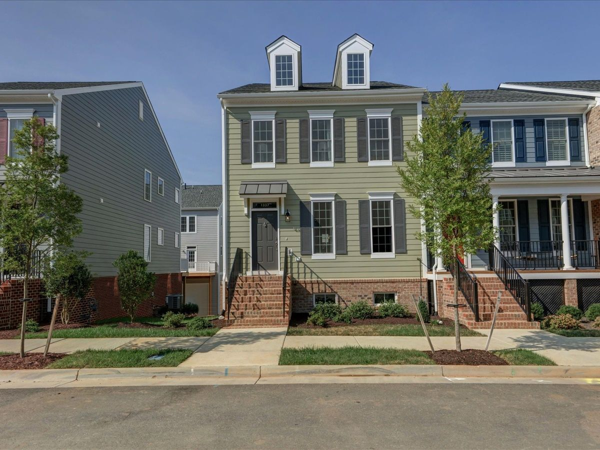 Exterior featured in the Parker - Mid-Entry By Main Street Homes in Richmond-Petersburg, VA