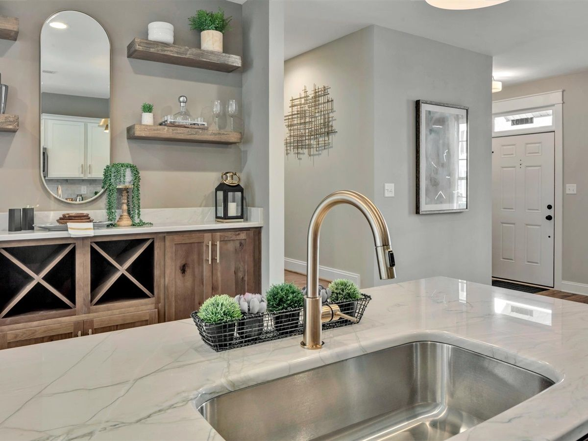 Kitchen featured in the Parker - Mid-Entry By Main Street Homes in Richmond-Petersburg, VA