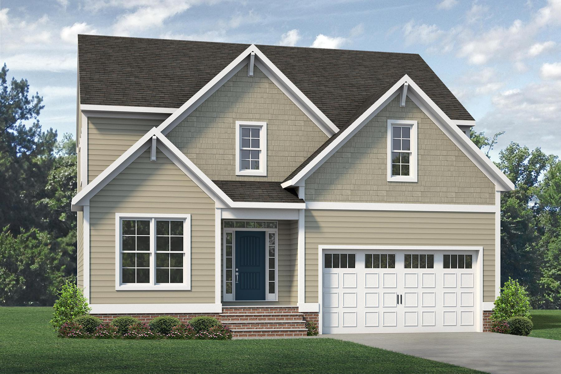 Exterior featured in the Dayton By Main Street Homes in Richmond-Petersburg, VA