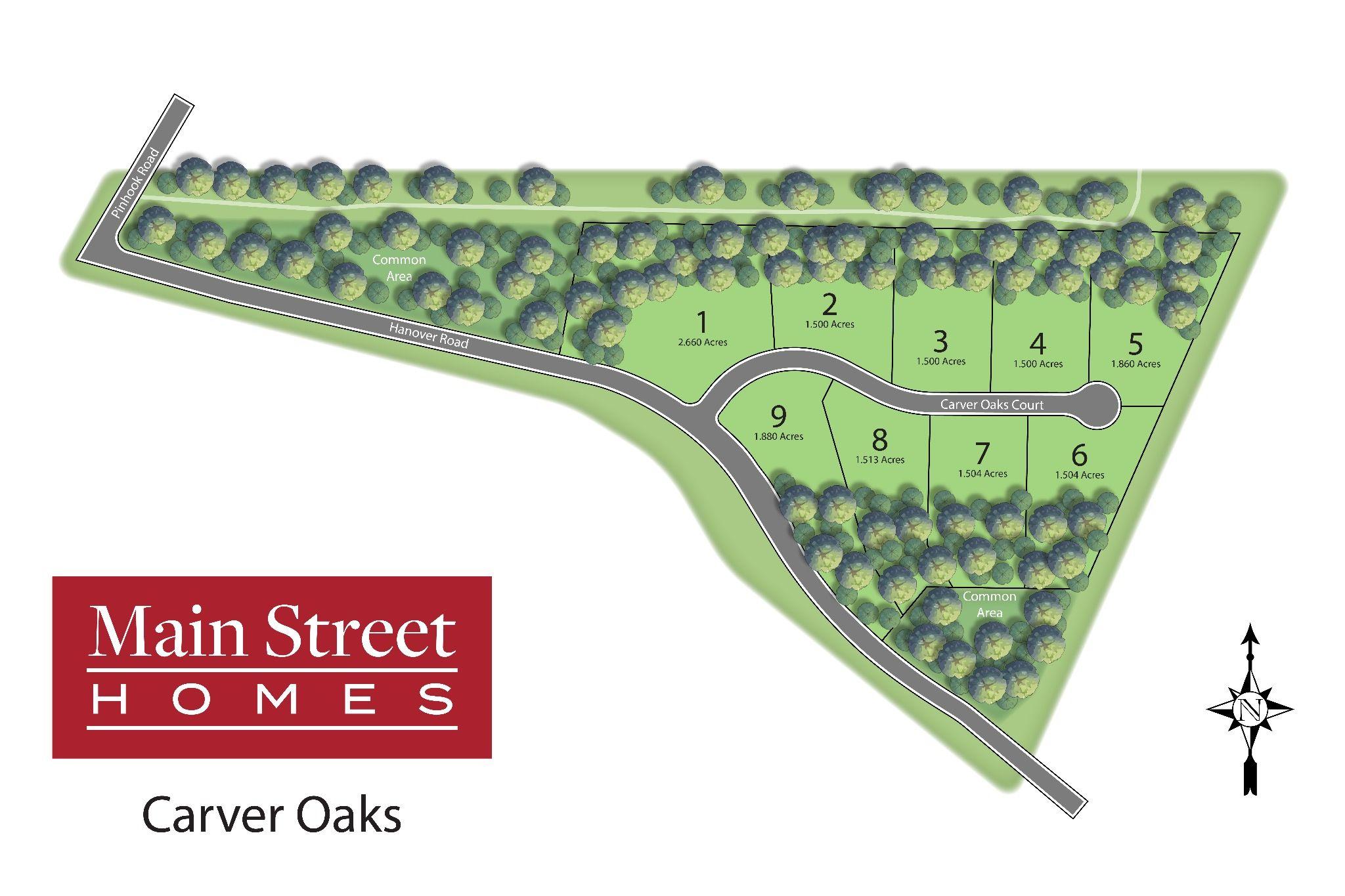 'Carver Oaks' by Main Street Homes in Richmond-Petersburg