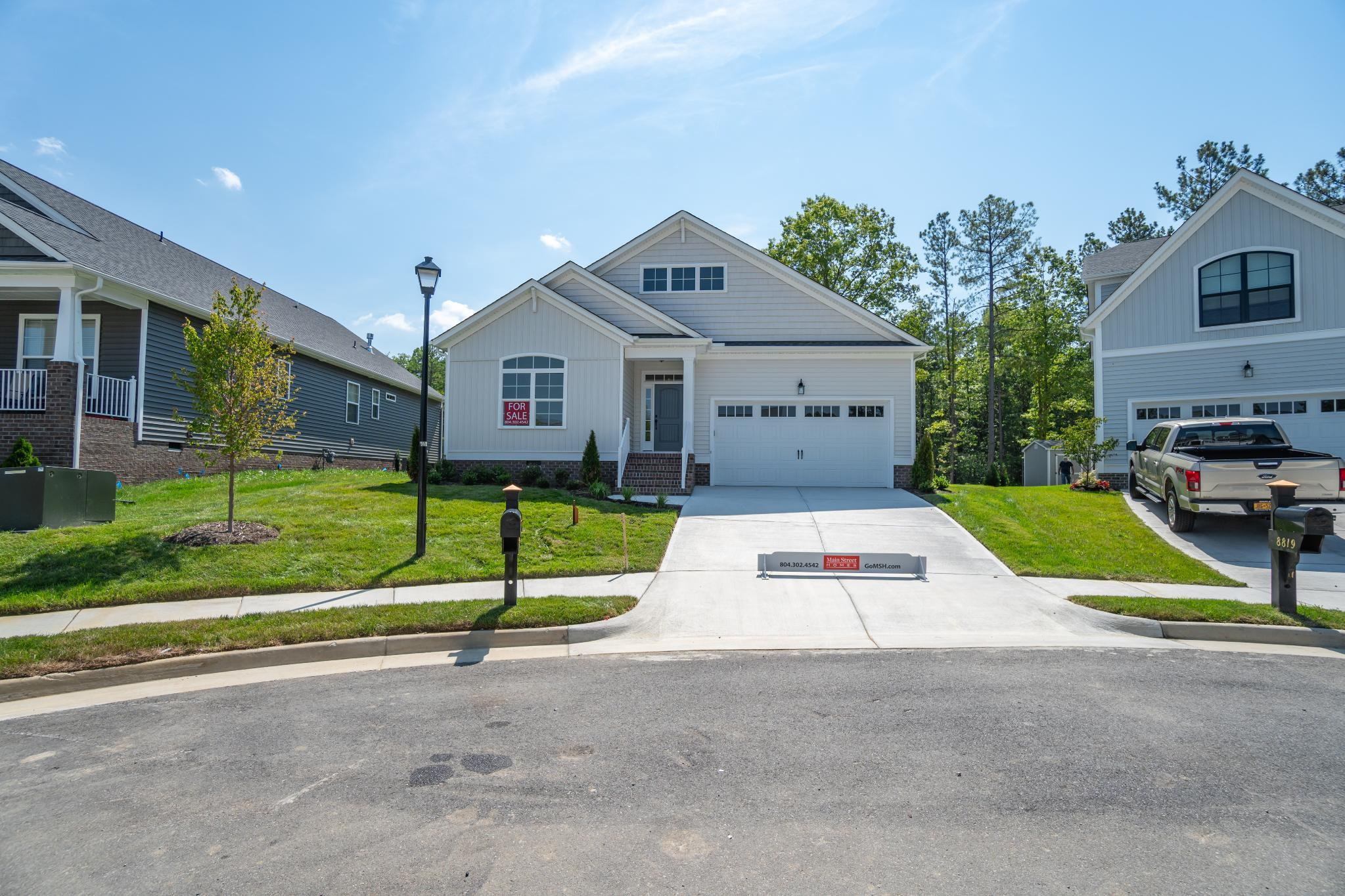 Exterior featured in the Anne III By Main Street Homes in Richmond-Petersburg, VA