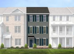 Brook - Cosby Village 3-Story Townhomes: Chesterfield, Virginia - Main Street Homes