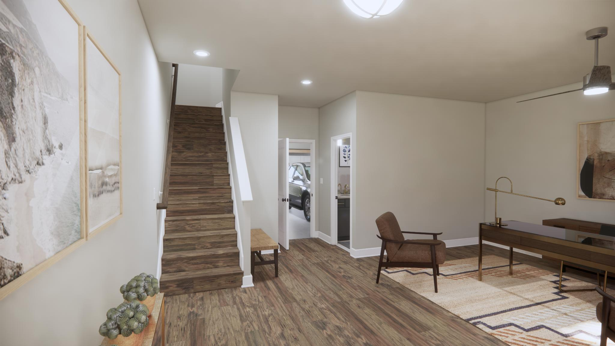 Living Area featured in the Brook By Main Street Homes in Richmond-Petersburg, VA