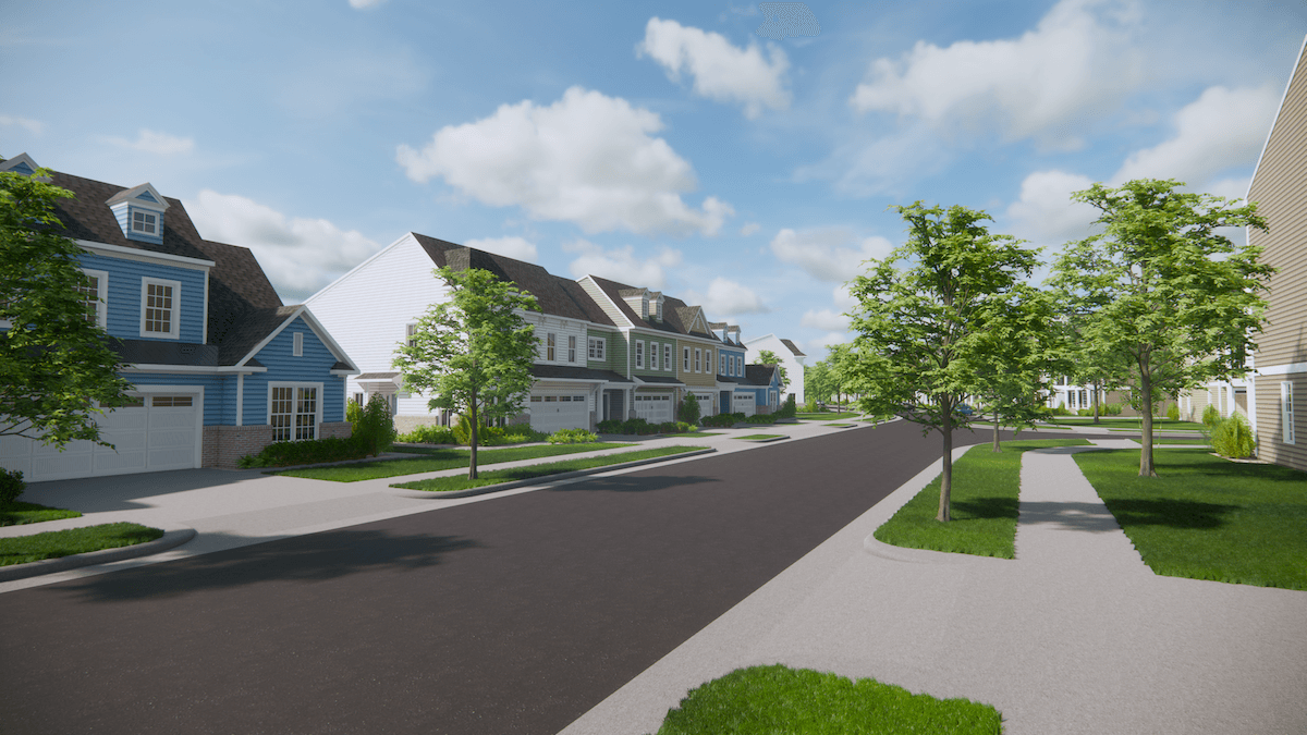 'Cosby Village' by Main Street Homes in Richmond-Petersburg