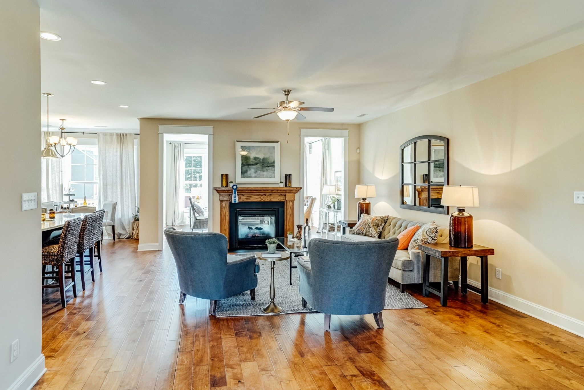 Living Area featured in the Treyburn I By Main Street Homes in Richmond-Petersburg, VA