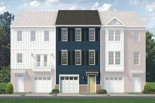 Westbrook D - IronBridge Townhomes: Chester, Virginia - Main Street Homes