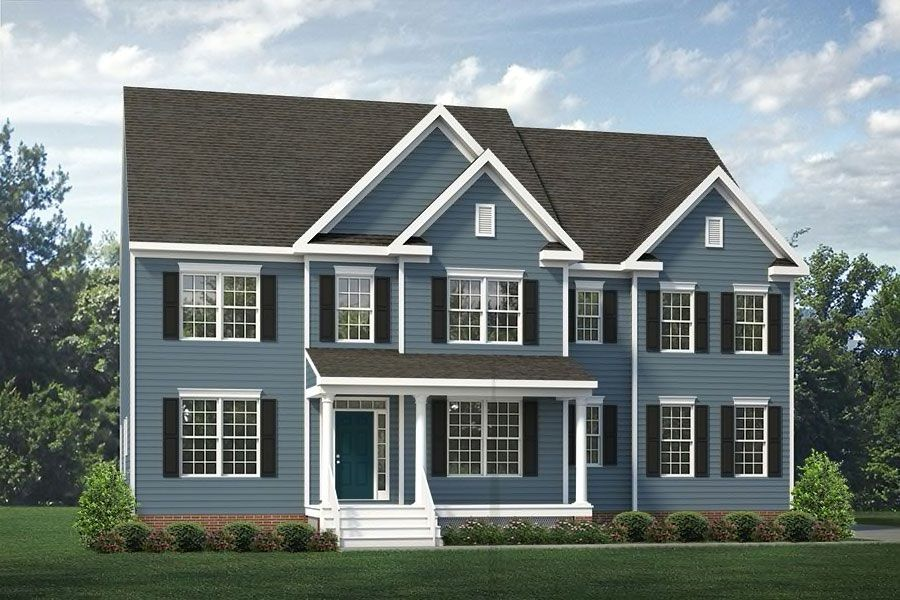 Exterior featured in the Berkeley By Main Street Homes in Richmond-Petersburg, VA