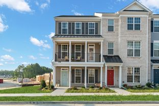 Grove - Cosby Village 3-Story Townhomes: Chesterfield, Virginia - Main Street Homes