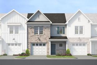 Parkwood A - IronBridge Townhomes: Chester, Virginia - Main Street Homes