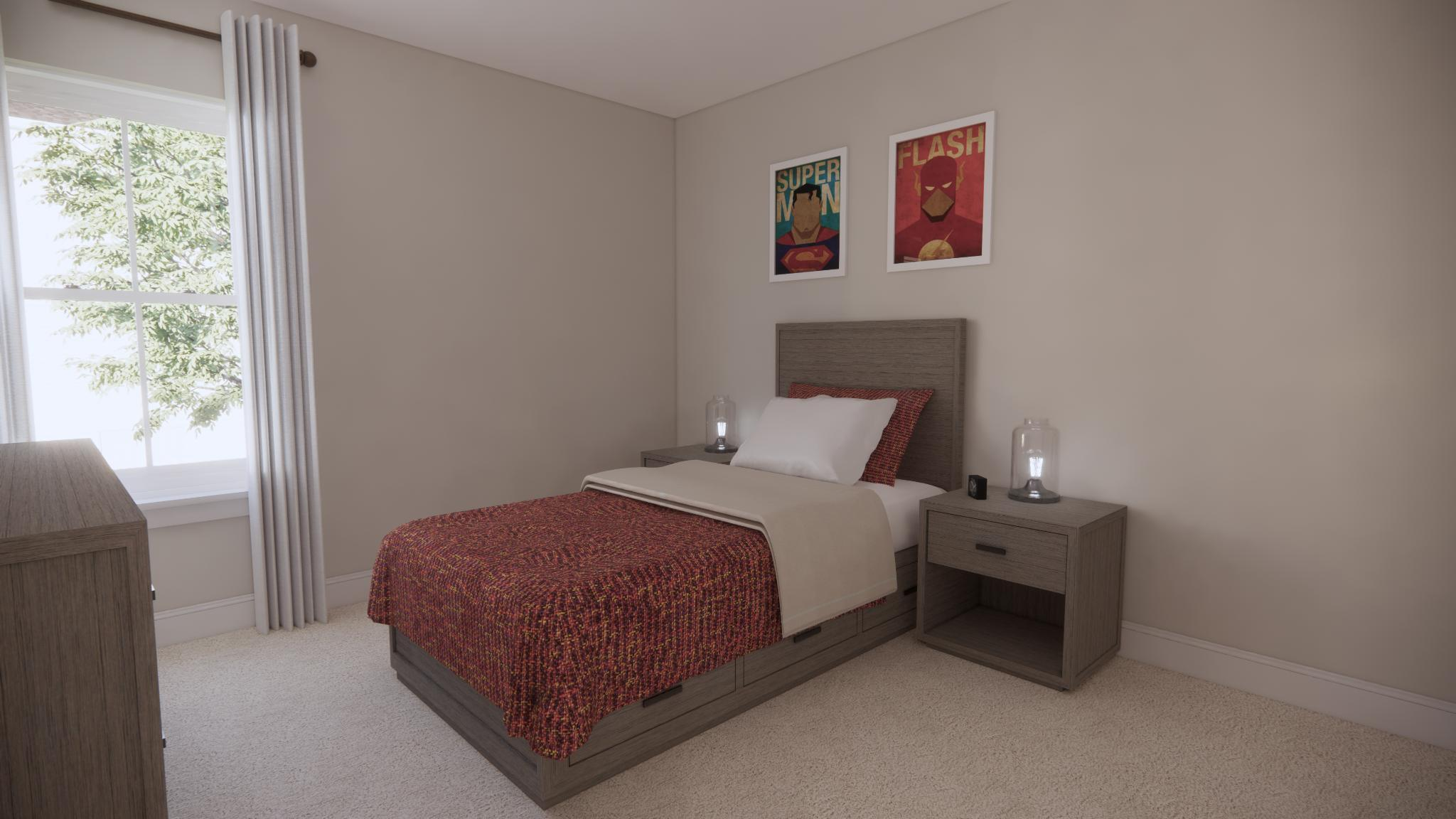 Bedroom featured in the Parkwood E By Main Street Homes in Richmond-Petersburg, VA
