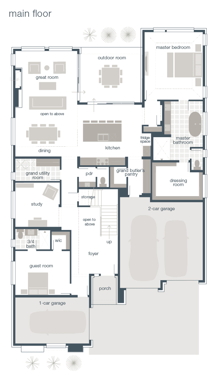 Main Floor Plan - Vienna Q2-2