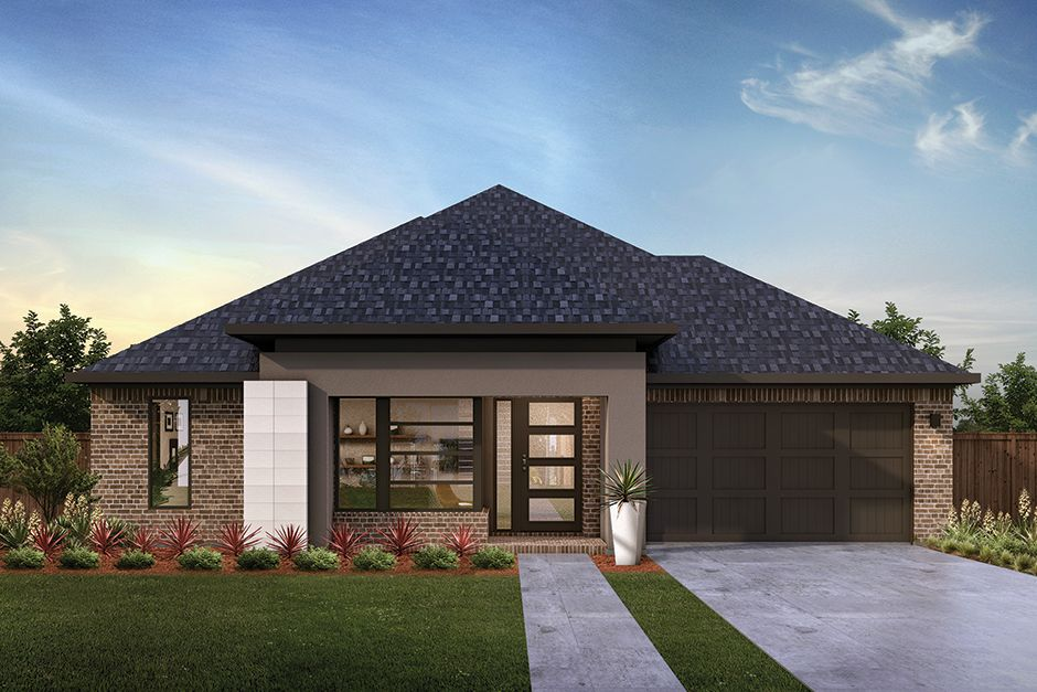 Exterior featured in the Catalina II Q1 By MainVue Homes in Fort Worth, TX