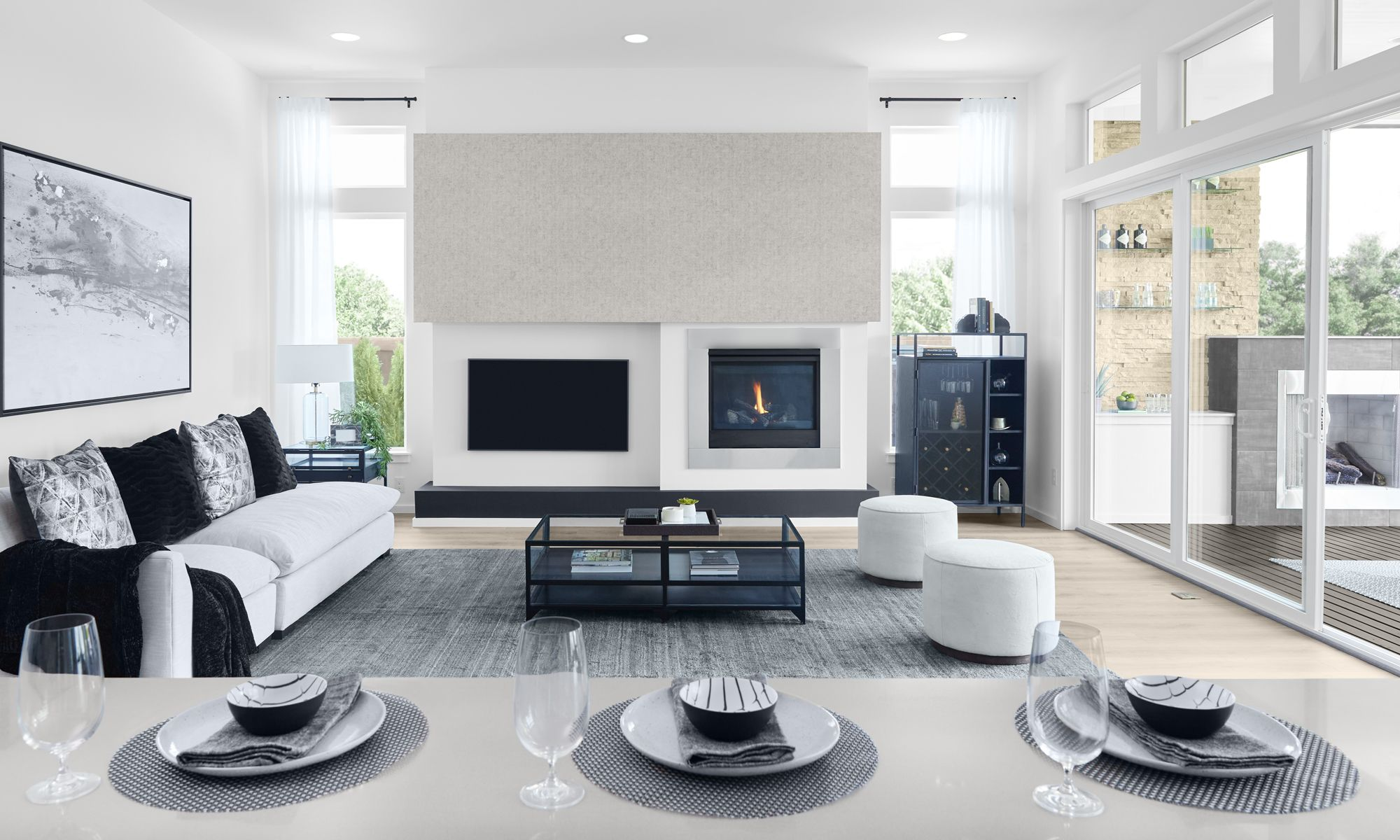 Living Area featured in the Kingston V2 By MainVue Homes in Bremerton, WA