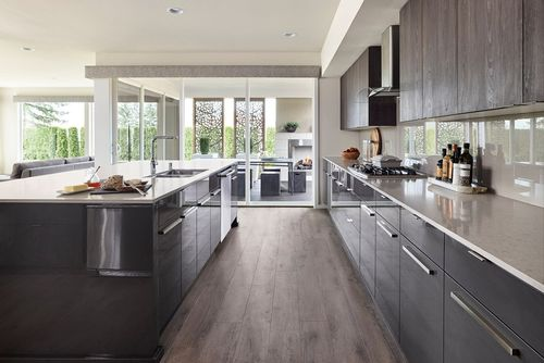 Kitchen-in-Duxton-at-MainVue Homes at Tehaleh-in-Bonney Lake