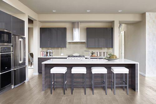 Kitchen-in-Brighton Q2-at-Windsong Ranch-in-Prosper