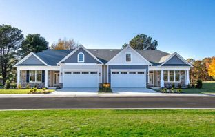 The Augusta with Loft - The Enclave at Prospect Bay Country Club: Grasonville, Maryland - Mallard Homes