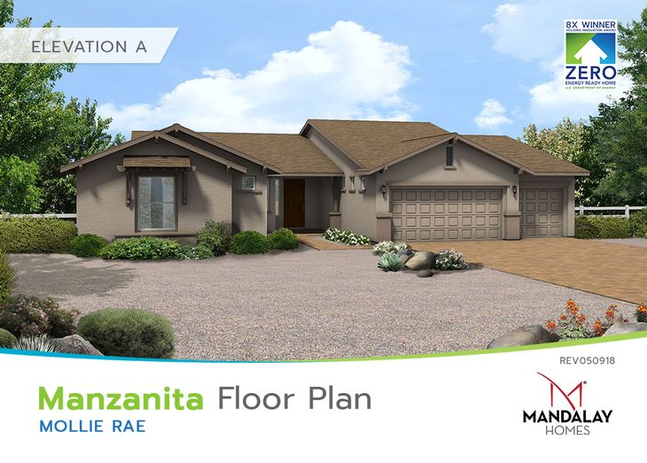 Manzanita:Elevation A