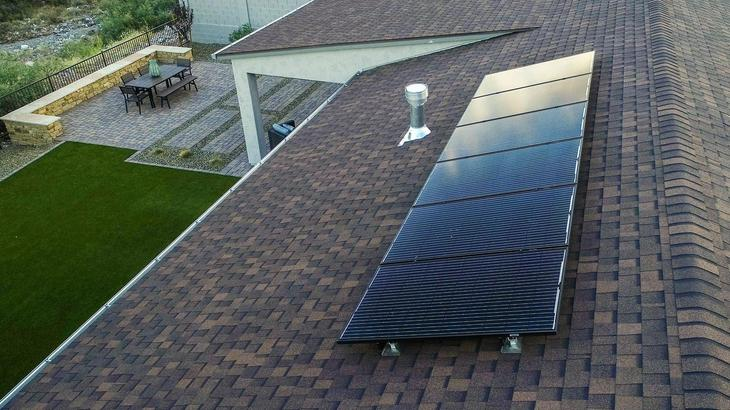 Solar System Included:Mandalay homes require 60% less fewer panels