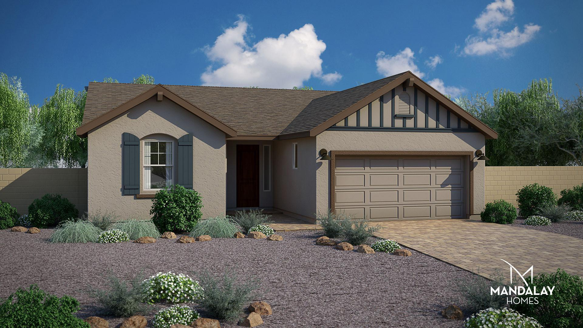 Exterior featured in the Daybreak By Mandalay Homes in Prescott, AZ
