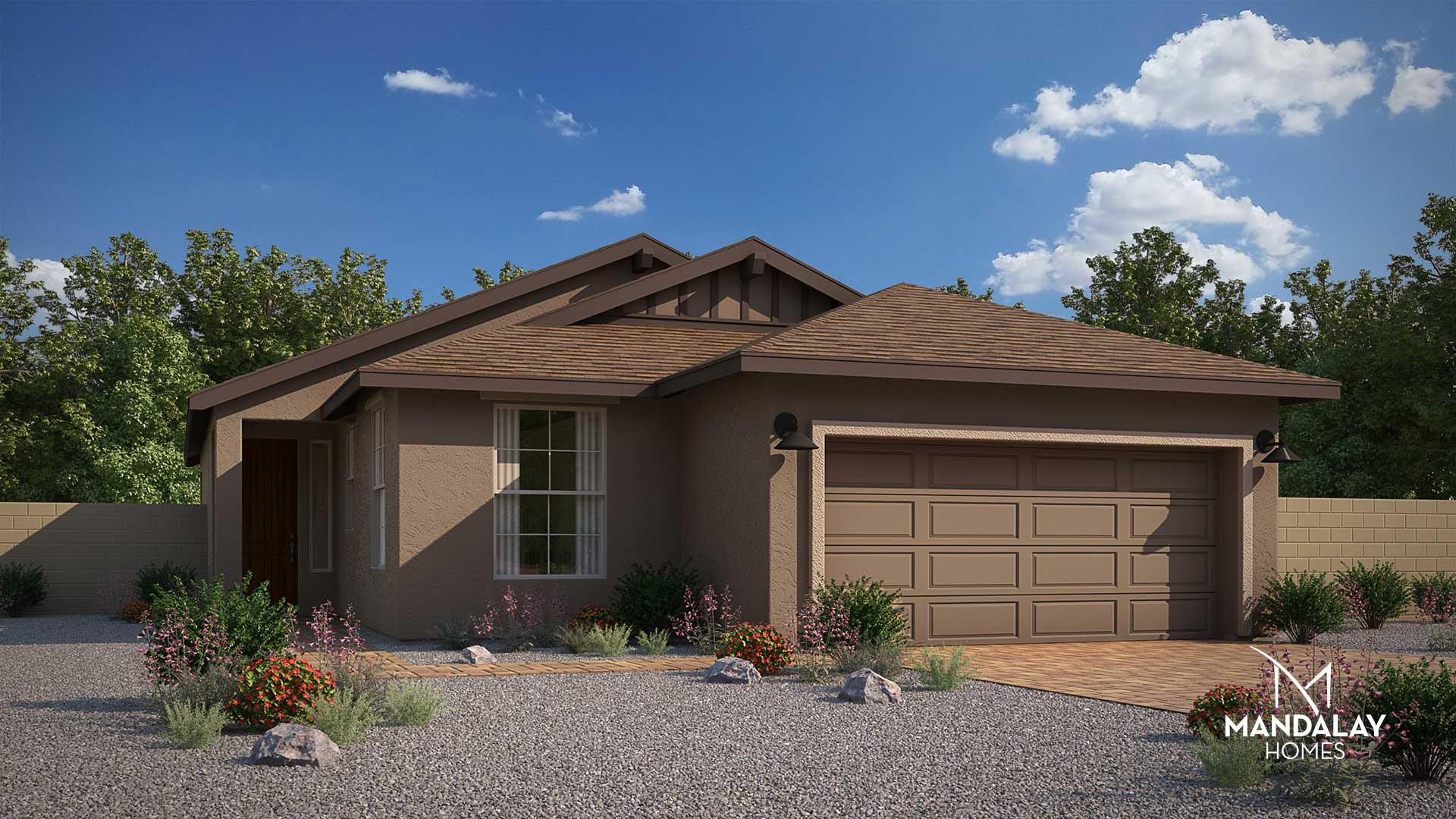Exterior featured in the Prairie By Mandalay Homes in Prescott, AZ
