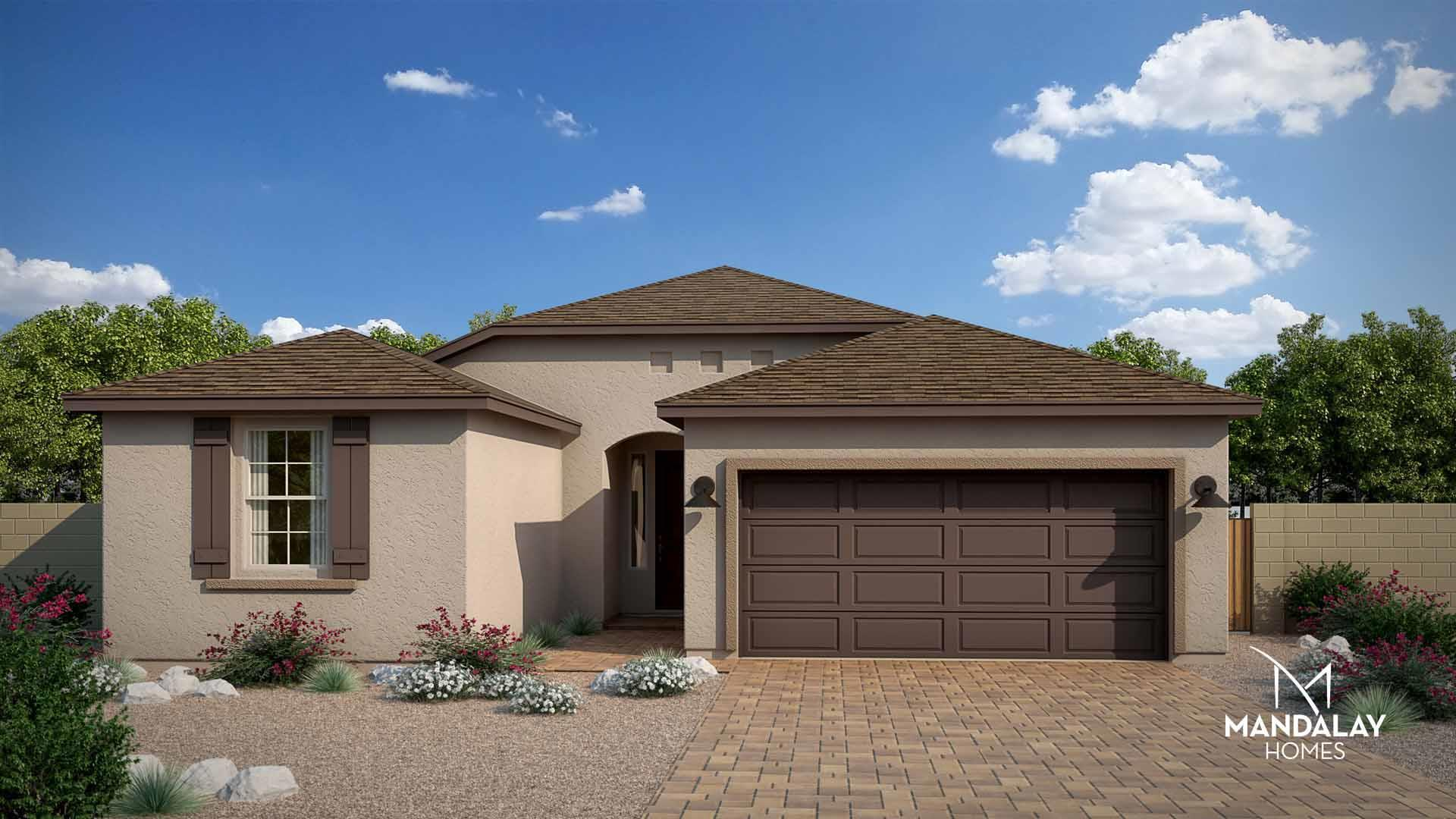 Exterior featured in the Sierra I By Mandalay Homes in Prescott, AZ