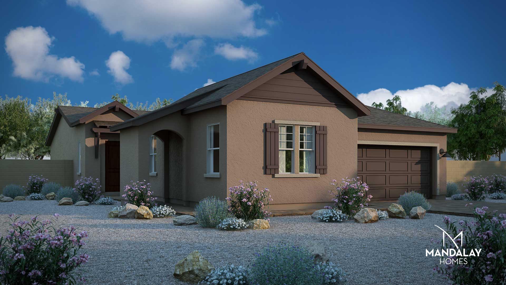 Exterior featured in the Star Gazer By Mandalay Homes in Prescott, AZ
