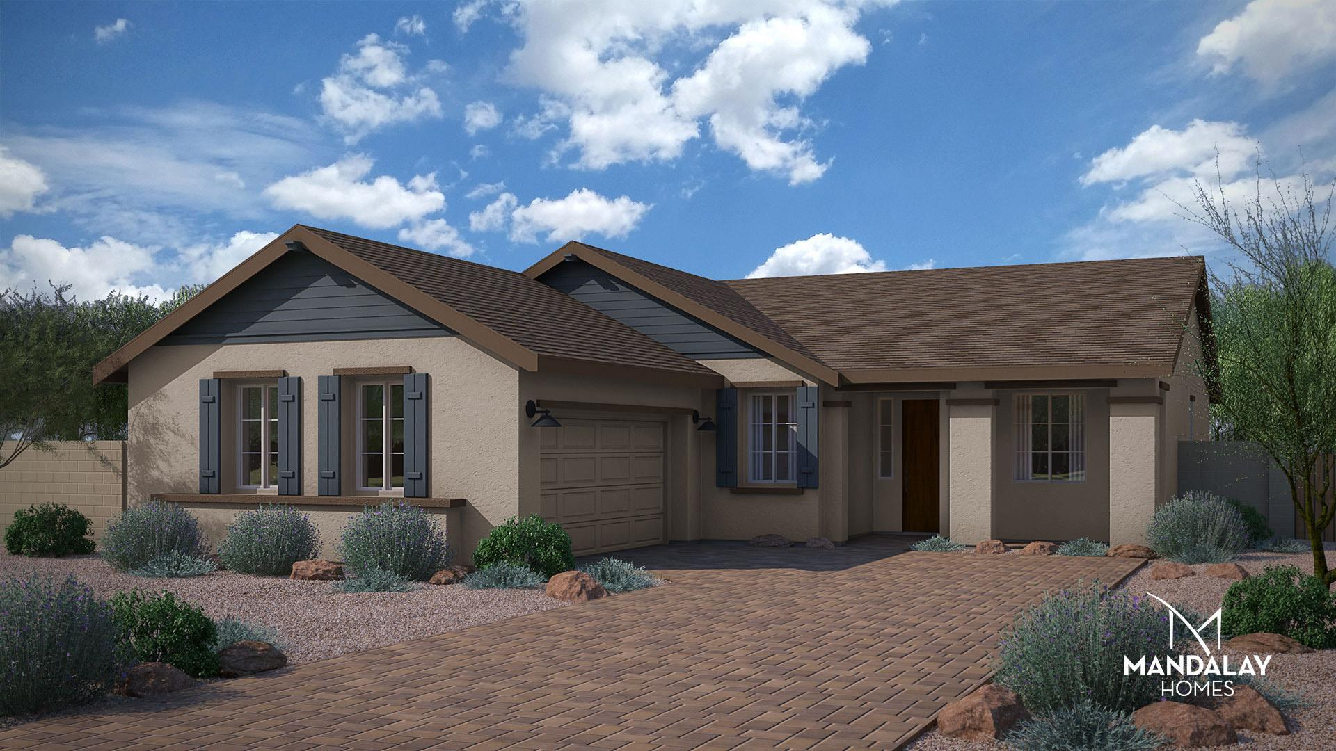 Exterior featured in the Vista By Mandalay Homes in Prescott, AZ