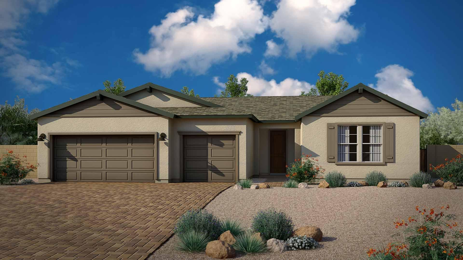 Exterior featured in the Highlander By Mandalay Homes in Prescott, AZ